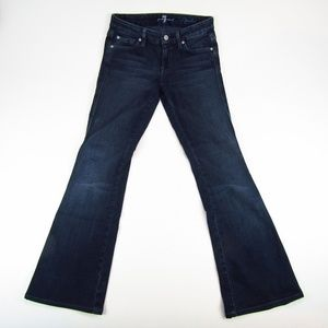7 For All Mankind Womens Bootcut Low Rise